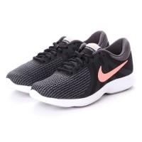 sepatu Nike Revolution 4 Black Swoosh Peach original 100%