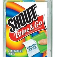Shout Wipe & Go stain remover / penghilang noda
