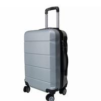 Tas Koper Fiber Travel Umroh koper kabin Polo E01 Silver uk 20