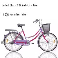 United Class X City Bike Sepeda Mini 24 inch