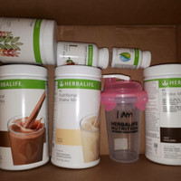 Harga paket 3 shake thermo cell u loss mixed fiber gelas shaker herbalif e | antitipu.com