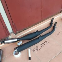 Harga knalpot standar racing fiz r dop hitam pakar | Hargalu.com