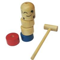 Mainan Kayu Anak Edukasi / Edukatif - Palu Tangkas