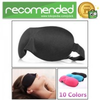 Soft Sleeping Googles / Kacamata Tidur - Hitam