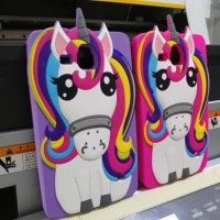 JUAL SILICON CASING SOFTCASE 3D SAMSUNG TAB 3V / TAB 3 LITE LIMITED