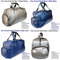 Tas Travel 2 Side Pocket Kulit