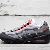 Sepatu Sneakers Nike original x atmos Air Max 95 black red AQ0925002