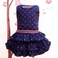JD51 Baju Pesta Dress Import Shanghai Baju Anak Perempuan Cewek Murah
