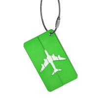 Name Tag ID Tas Koper Aluminium - Green