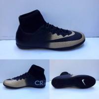 e778216c766 Jual Sepatu Futsal Nike Mercurial Cr7 Black Gold Murah - Harga ...