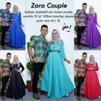 Couple Batik Gamis Zara Kebaya Modern Baju Wanita Muslimah Tanah Abang
