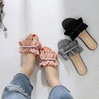 Sandal Kerut Pita