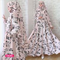 Gamis wanita muslim dress afirah