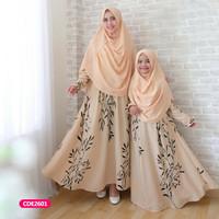 Gamis anak couple ibu anak dress muslim nurisyah