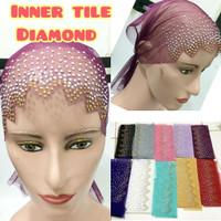Inner iner ciput dalaman daleman jilbab hijab kerudung tile diamond