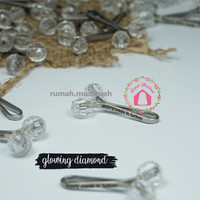 Jual Klip jilbab turkey 'GLOWING DIAMOND' hijab clip jepit turki original Murah