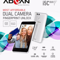 Hp Murah Advan I5C Duo 4G DUAL REAR CAMERA 2/16 GARANSI RESMI ADVAN