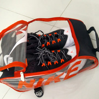 Tas Sepatu Bola Adidas / Nike Transparan Promoo