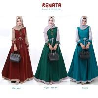 RENATA DRESS Baju muslim Baju wanita Gamis SHOFIYA
