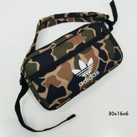 Army Adidas Waist Bag / Tas pinggang Original