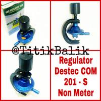 Jual Regulator Kompor Gas Destec COM 201 S - Tekanan Rendah 201-S - 201S Murah