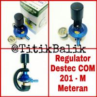 Jual Regulator Kompor Gas Destec COM 201 M - Tekanan Rendah 201-M - 201M Murah