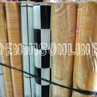 Karpet Plastik (Tebal & Glossy) Alas Lantai dan Alas Meja, Per Meter