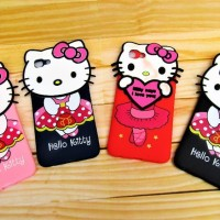 SILICON 3D HELLO KITTY FOR TYPE HANDPHONE VIVO V7 PLUS - Y71