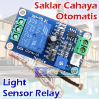 New Relay Cahaya 12v Saklar Otomatis Sensor Lampu 250v AC Light LDR