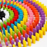 Balok Domino 120PCS - Multi Color