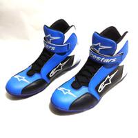 Sepatu drag alpinestars biru baru