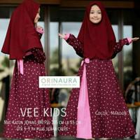 Gamis Anak Vee Kids Syari Busana Muslimah