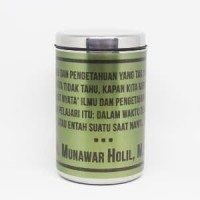 Mug Thermal Stainless Quotes by Request Murah