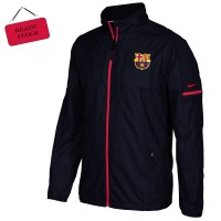 Harga jaket windbreaker hitam keren logo barcelona dan logo lainnya   WIKIPRICE INDONESIA