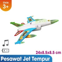 Ocean Toy Pesawat Jet Tempur F-16 Mainan Anak OCT5106 - Multicolor