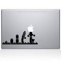Macbook Sticker LEGO EVOLUTION Sticker Cutting Stiker