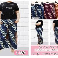 Celana Batik Kulot Panjang Big Size C080