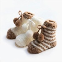 kaos kaki bayi - stripes short socks 3in1 - Baby Socks -Kaus Kaki Bayi