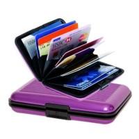 Dompet Kartu Aluminium - Credit Card Wallet