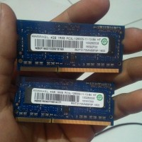 Ram 4GB RAMAXEL memori sodimm laptop DDR3L PC3L 1.35v low voltage