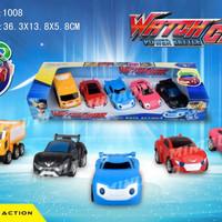 WATCH CAR 1008 Pullback ISI 5 Mainan Anak