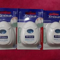 Trisa Benang Gigi asli Italy (dental floss)