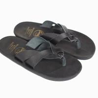 Sandal Casual Sandal Jepit Pria Cevany Kulit