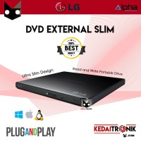 NEW DVD-RW External/ Portable LG Ultra SLIM Optical Drive READ+WRITE