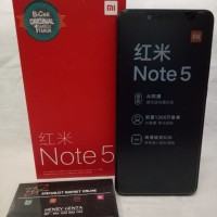 Xiaomi Redmi Note 5 Pro Black Ram 6 Internal 64 Gb - Garansi Distri