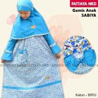 Gamis Anak Fattaya, Sabiya, Size 8, Busana Muslim Anak Perempuan