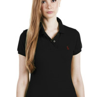 POLO RALPH LAUREN- Classic Fit Polo Shirt Ladies