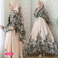 Gamis wanita muslim dress syari shofiya