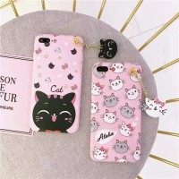 Case Samsung Galaxy Note 2 3 4 8 Softcase Cat Kucing Kitty Aloha Pink