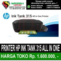 PRINTER HP INK TANK 315 ALL IN ONE